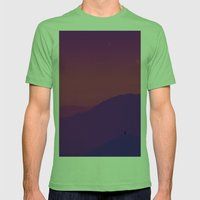 Aramanthine Mens Fitted Tee Grass SMALL