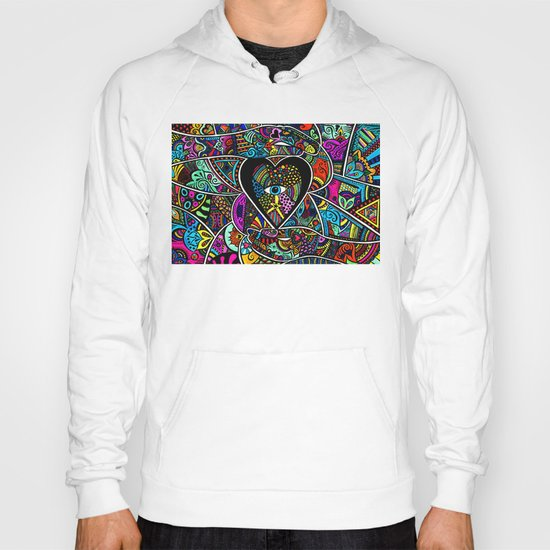 What the heart sees the hands hold  Hoody