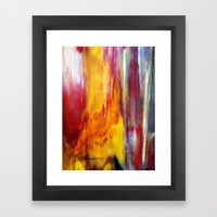 Nature's Abstract Framed Art Print