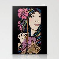 Tribal Artist Stationery Cards