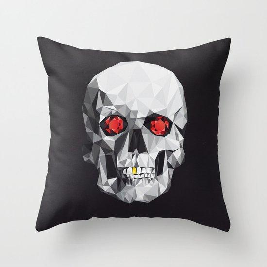 Geometric Eye Candy Throw Pillow