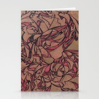 Autumn Dance Stationery Cards