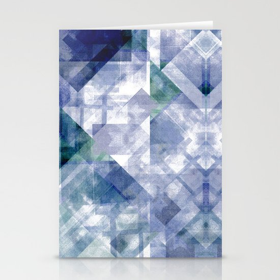 Pixel. Stationery Card