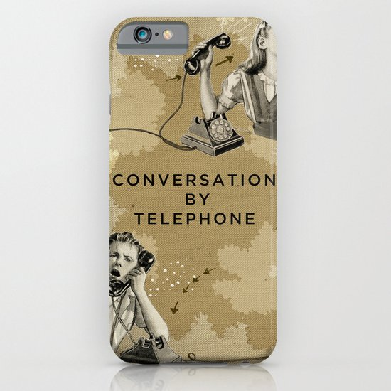 Conversation by Telephone iPhone & iPod Case