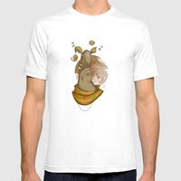 Al The Alien Mens Fitted Tee White SMALL