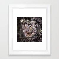 Holy Archaic Maria Framed Art Print