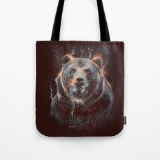 DARK BEAR Tote Bag