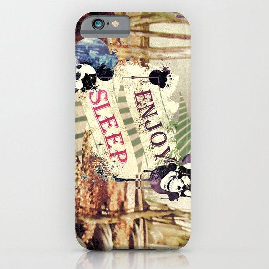 Enjoy Sleep! iPhone & iPod Case