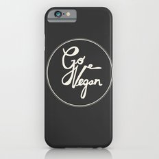 Go Vegan Grey Slim Case iPhone 6s