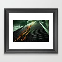 High Framed Art Print