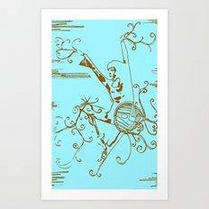 Tiny Dancer [Locust] Art Print