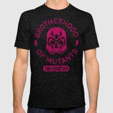 Bad Boy Club: Brotherhood of Mutants  Mens Fitted Tee Tri-Black SMALL