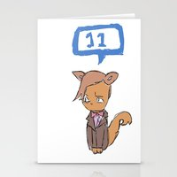 Doctor Meow (11th Doctor… Stationery Cards