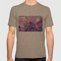 violet orchid Mens Fitted Tee Tri-Coffee SMALL
