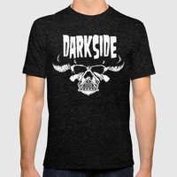 Darkside Mens Fitted Tee Tri-Black SMALL