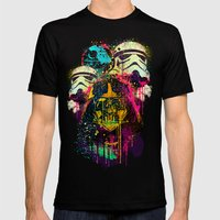 EMPIRE POP Mens Fitted Tee Black SMALL