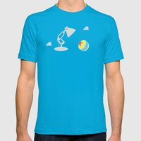 Luxo Jr. Mens Fitted Tee Teal SMALL