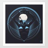 Human Ascension Art Print
