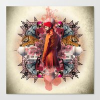 Kaleidoscope India Canvas Print
