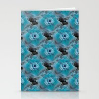 Blueish Stationery Cards