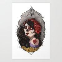 El Dia Del Los Muertos Art Print