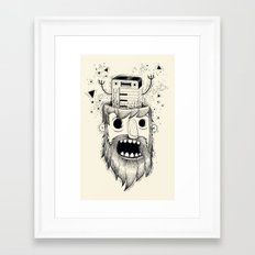 Synth-POP Framed Art Print