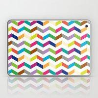 Funny stripe Laptop & iPad Skin
