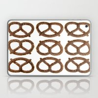 Pretzel Pattern Laptop & iPad Skin