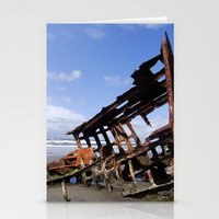 Wreck Of The Peter Ireda… Stationery Cards