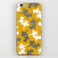 Goldfish Pattern iPhone & iPod Skin