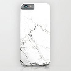 Marble Black & White iPhone 6 Slim Case