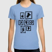 Stage Select Womens Fitted Tee Tri-Blue SMALL