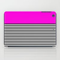 STRIPE COLORBLOCK {PINK} iPad Case