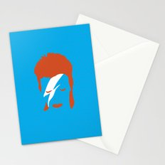 Ziggy Stardust - Blue Stationery Cards