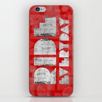 Ride Everyday  iPhone & iPod Skin