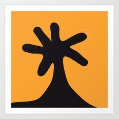 Flower, Bum, Uranus, Palm Tree Art Print