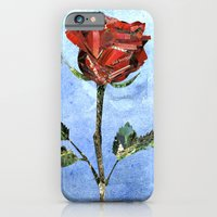 iPhone & iPod Case featuring The Little Prince's Rose by Bezmo Designs