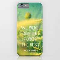 iPhone & iPod Case featuring We Were Together by Olivia Joy StClaire