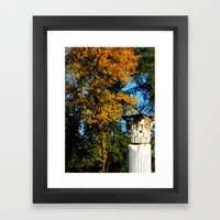 Ancient Roman Column Framed Art Print
