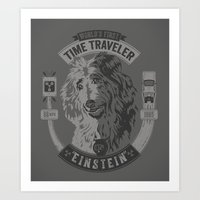 World's First Time Trave… Art Print