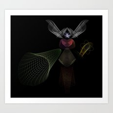An Invisible Thread Art Print