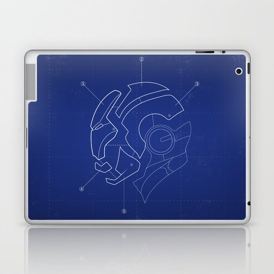 Heroes Are Built Laptop & iPad Skin
