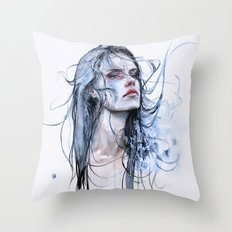 obstinate impasse Throw Pillow