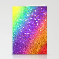 Partytime Rainbow Stationery Cards