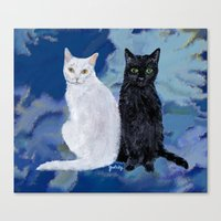 Kingston and Midnight Canvas Print