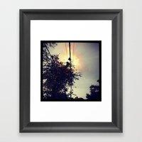 Fire Starter  Framed Art Print