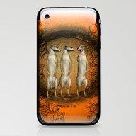 Funny Meerkats  iPhone & iPod Skin