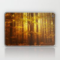 Yellow Fall Laptop & iPad Skin