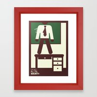 Dead Poets Society Framed Art Print