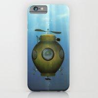 Steampunk submarine iPhone 6 Slim Case